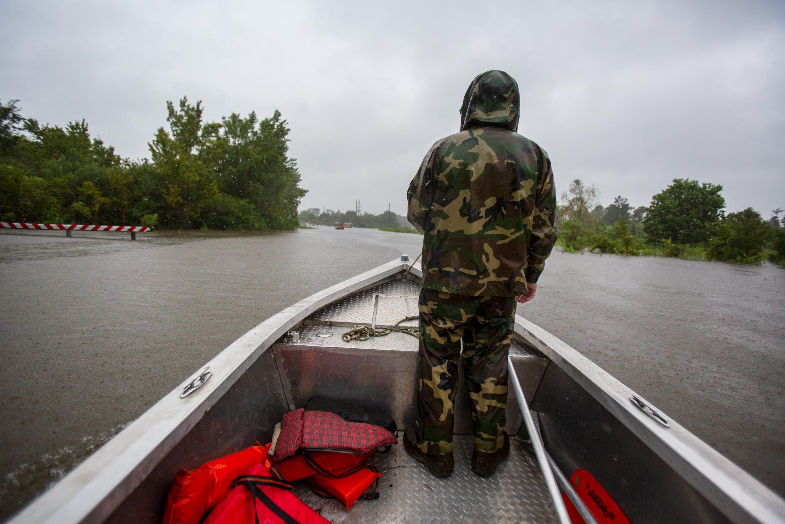 New Orleans Photojournalist and Editorial Photographer Edmund D. Fountain - Cajun Navy Hurricane Harvey