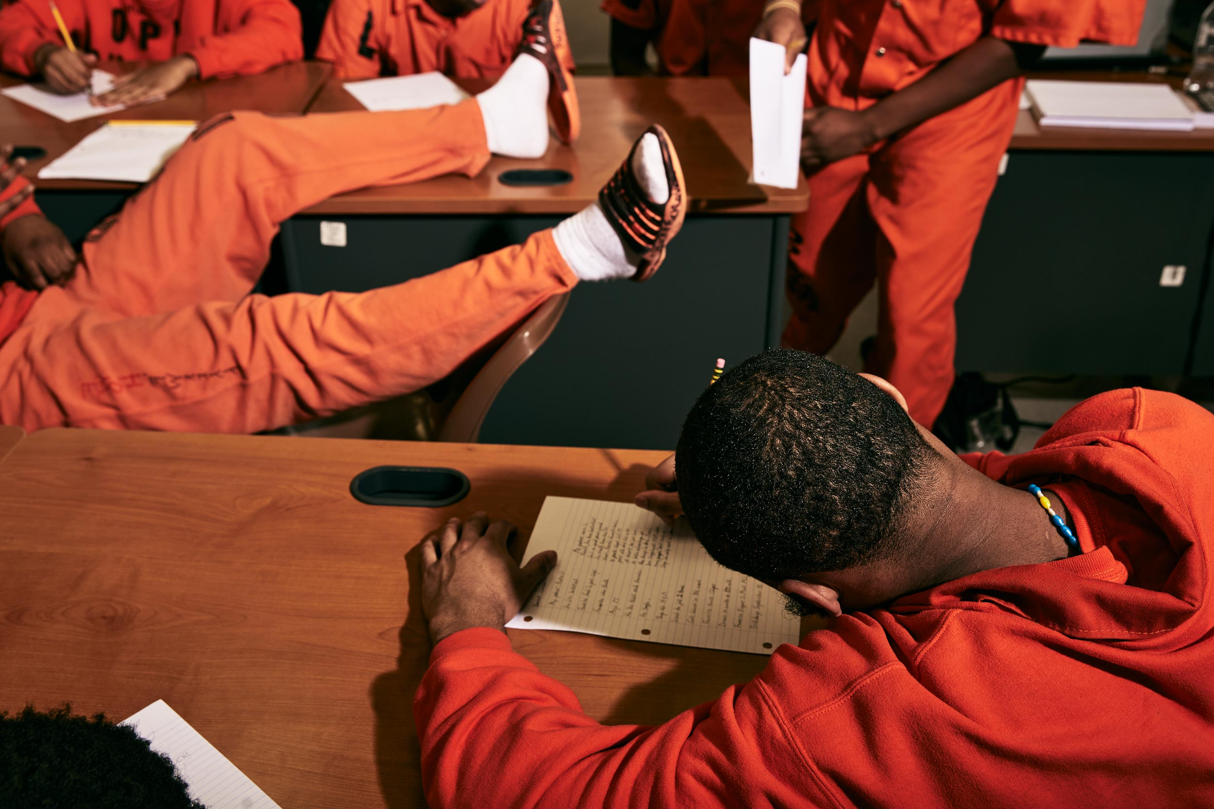 New Orleans Photojournalist and Editorial Photographer Edmund D. Fountain - Orleans Parish Prison School