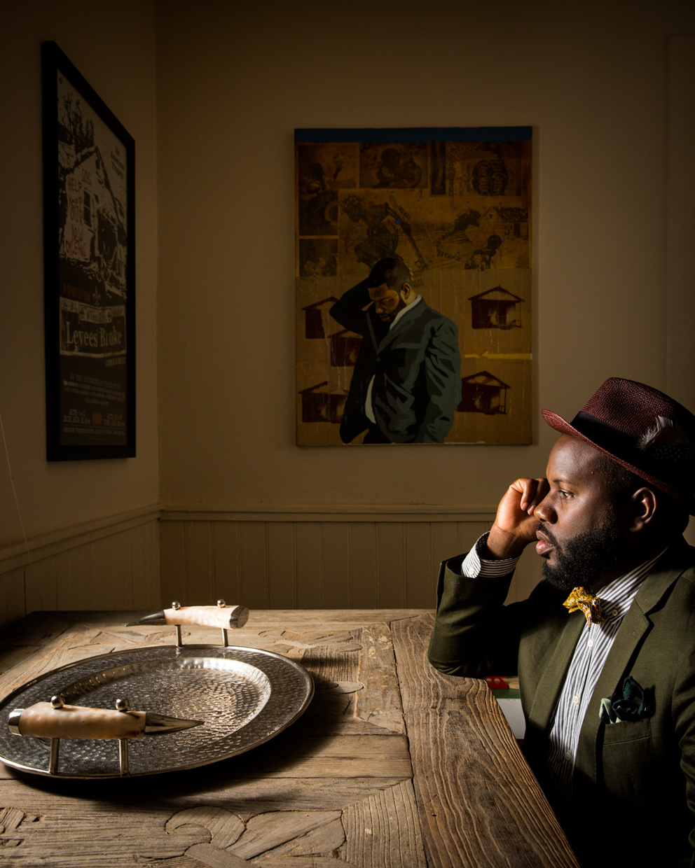 New Orleans Photojournalist and Editorial Photographer Edmund D. Fountain - Portrait