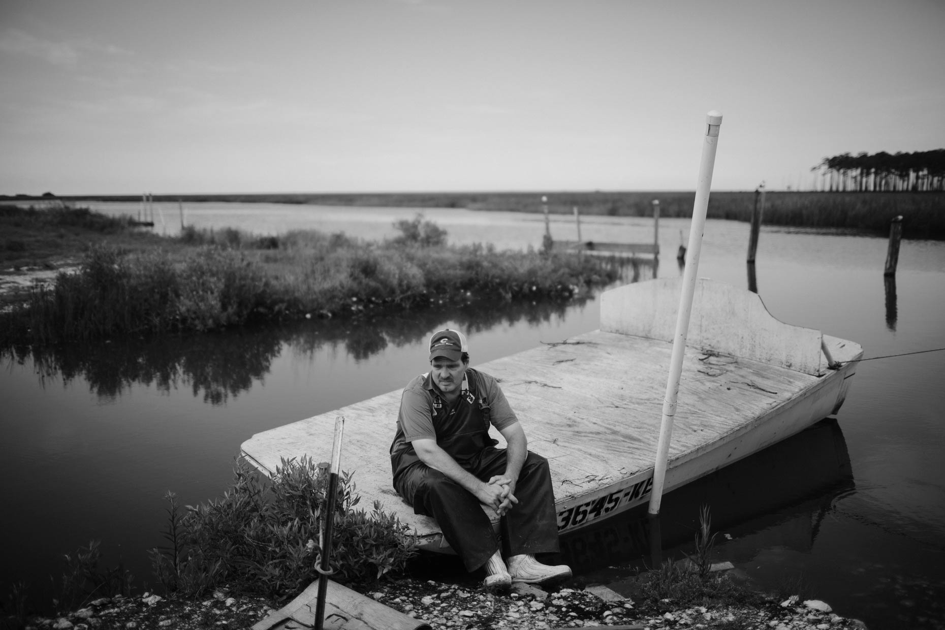 New Orleans Photojournalist and Editorial Photographer Edmund D. Fountain - Coastal Oyster Industry